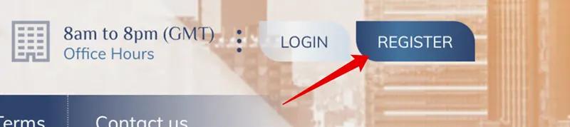 Регистрация в Forexina