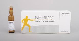 سعر ودواعى إستعمال نبيدو NEBIDO حقن لتنشيط هرمون الذكورة لدى الرجال
