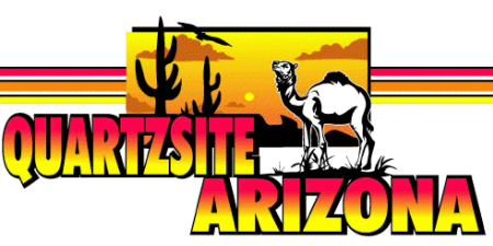 Welcome to Quartzsite, Arizona