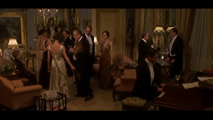 Gosford Park costumes at the Fashion Institute of Design ...  |Gosford Park Costumes