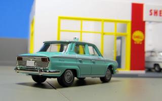 Tomica Limited Vintage Toys Club Hino Contessa 1300 kitahara taxi