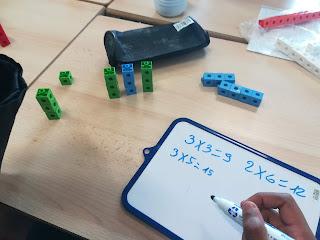 Atelier mathématique découverte de la multiplication