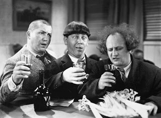 Moe Larry Curly The Three Stooges funny drunk