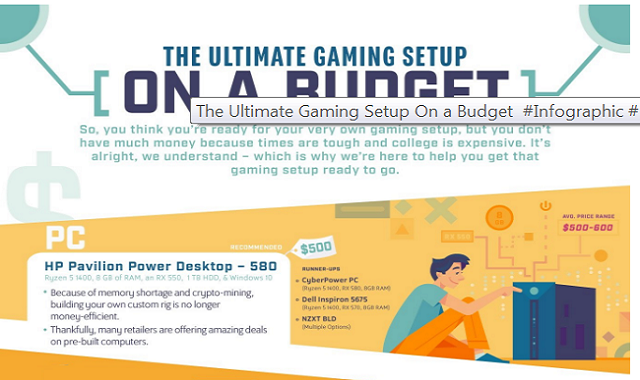 The Ultimate Gaming Setup On a Budget