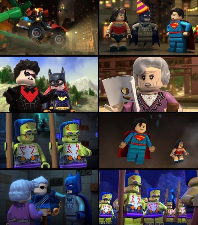 Justice League Gotham City Breakout 2016 English 720p BRRip 700MB ESubs