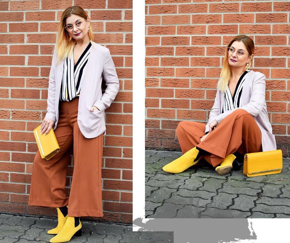 Modeblog für Frauen ab 40 | Gelb und andere Farben kombinieren