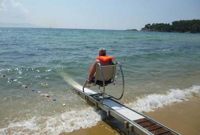 Ο Δήμος Πάργας,κάνει τις παραλίες Λούτσας και Βάλτου,φιλικές στα άτομα με κινητικές αναπηρίες