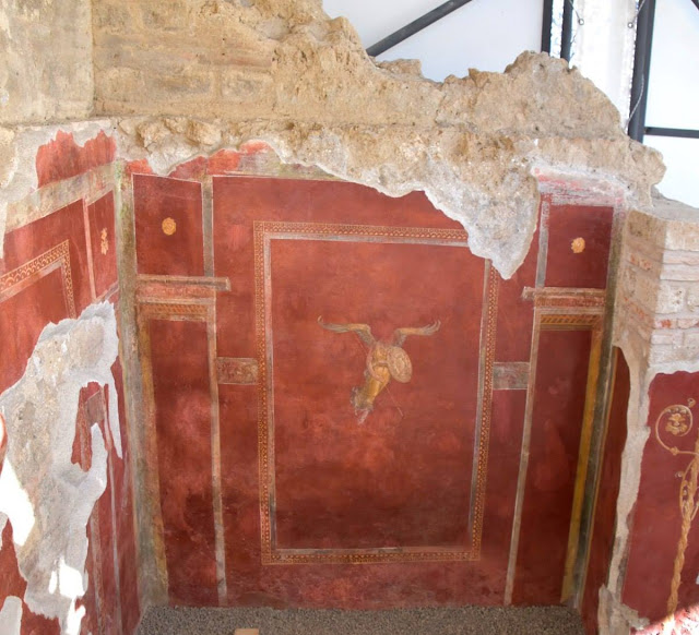 Restored Pompeii gladiator building open to public