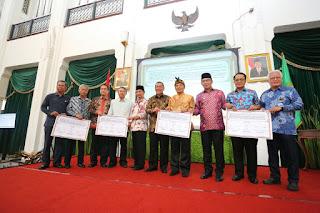 Ridwan Kamil_Deddy Mizwar_penanganan banjir Bandung Raya