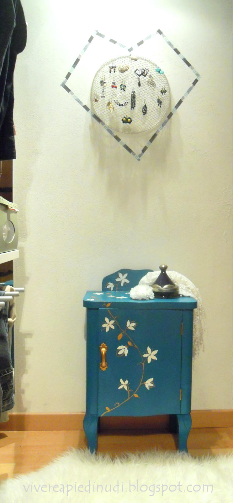 Idee Per Porta Orecchini vivere a piedi nudi living barefoot: riciclo, riuso