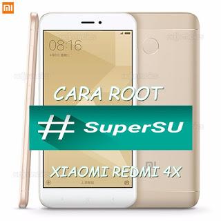 Cara Gampang Root SuperSU Redmi 4x
