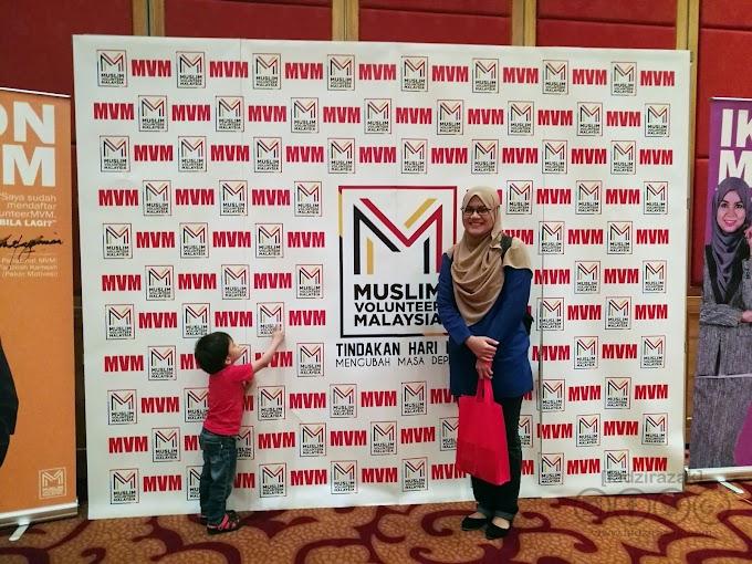 Beramal Dan Bersedekah Dengan Muslim Volunteer Malaysia