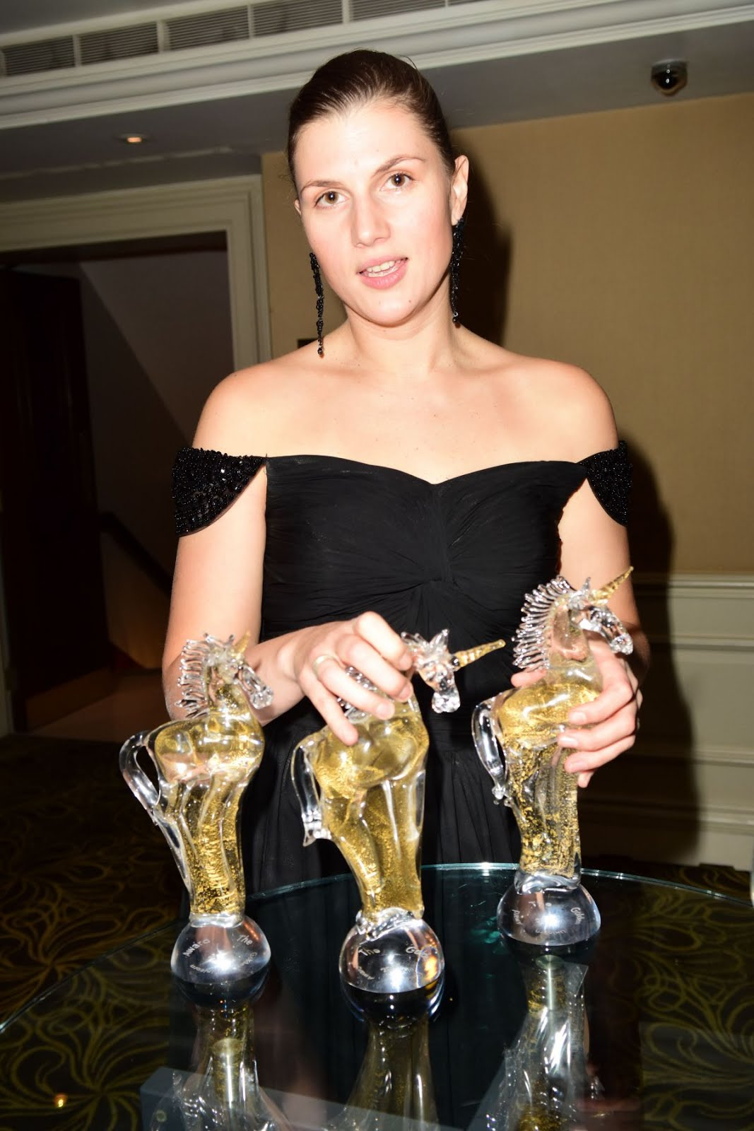 Photos of Maryana Spivak at 2nd Golden Unicorn Awards in London