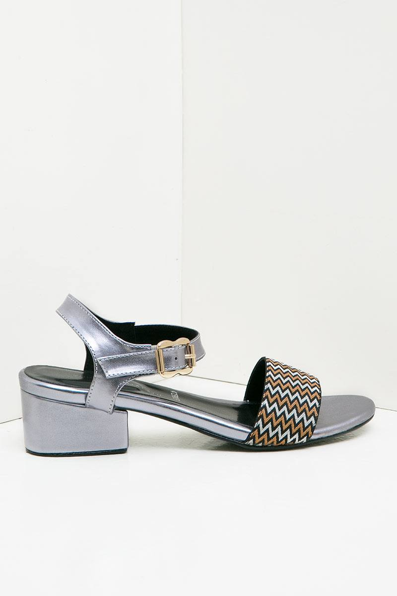 WOMEN AREUM HIGH HEELS SILVER 41390039