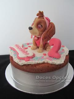 cake skye paw patrol sugar paste
