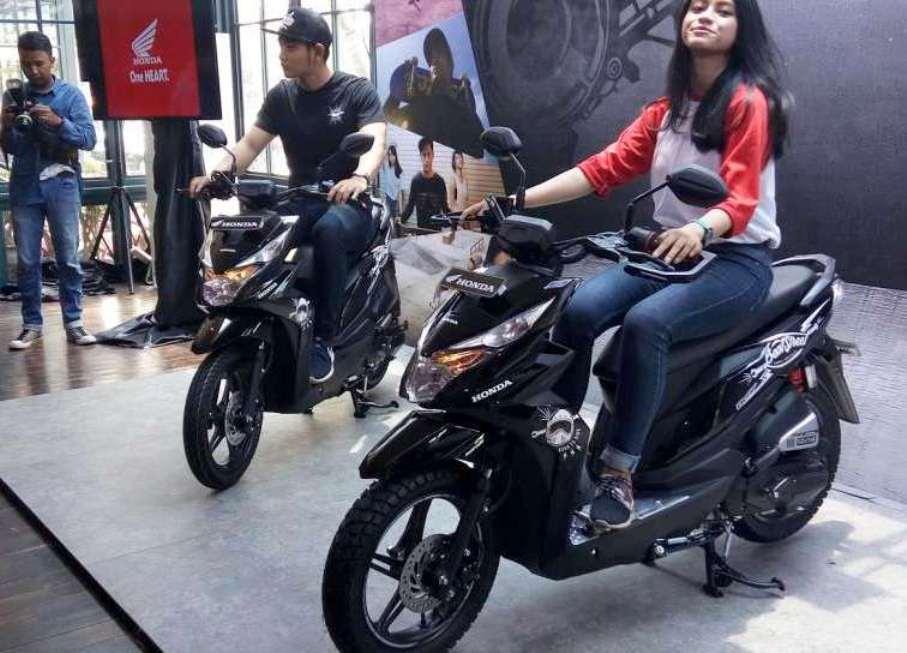Hanya hadir dalam satu pilihan warna, AHM resmi merilis New Honda Beat Street
