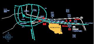 Peta lokasi Maikarta Cikarang Jababeka