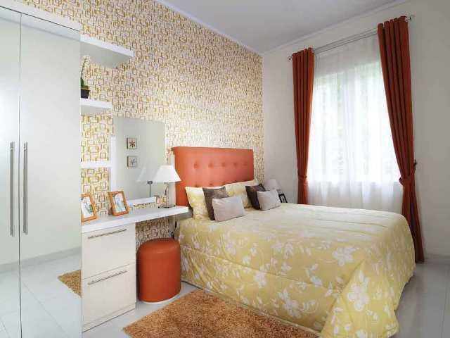 15 gambar kamar tidur sempit minimalis untuk suami istri