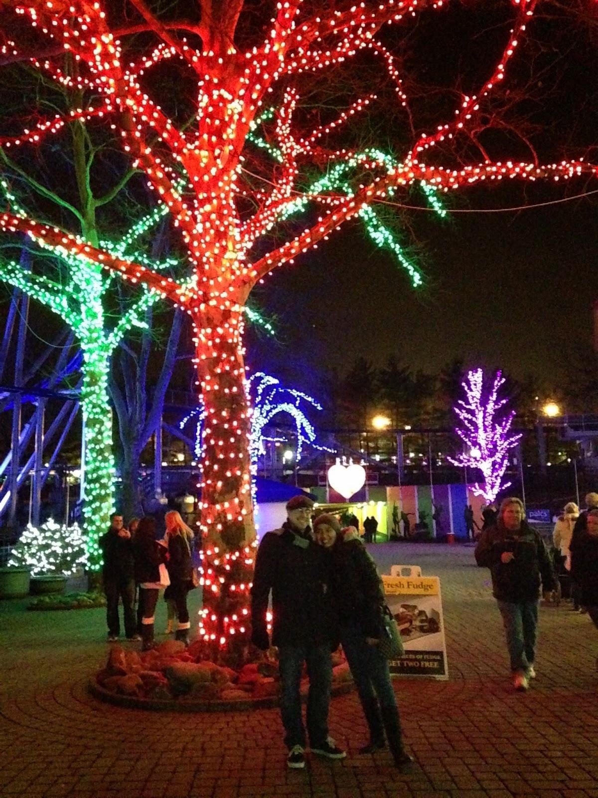 Kennywood Christmas.Kennywood Holiday Lights Lovepgh Sand And Snow