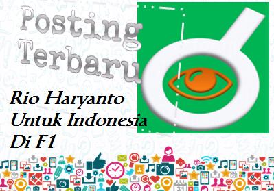 Ilustrasi Rio Haryanto Pacu Manor Racing Untuk Indonesia Diajang F1 - Dipopedia