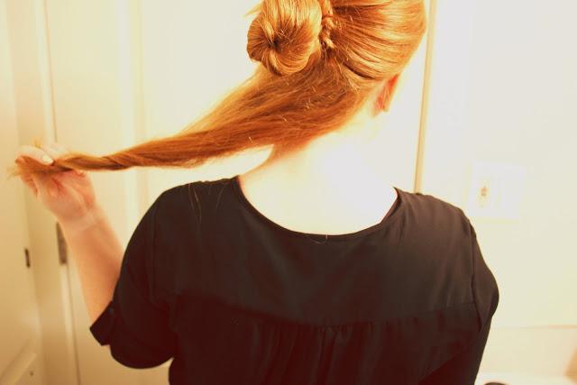 redhead hair twist