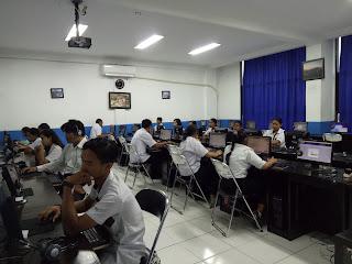 """SMK TI Bali Global Denpasar Menjadi Tempat Berlangsungnya Gladi Bersih UNPK Paket B dan C """"PKBM Saraswati"""" SPNF SKB Disdikpora Kota Denpasar"""