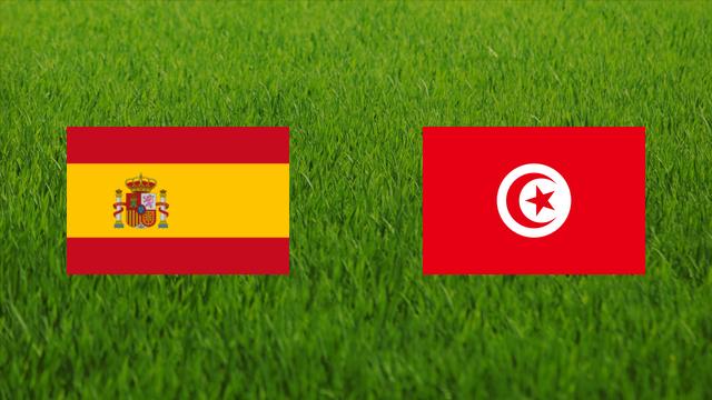 مشاهدة مباراة تونس واسبانيا