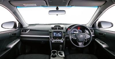 2016 Toyota Camry Altise Specs & Features Interior