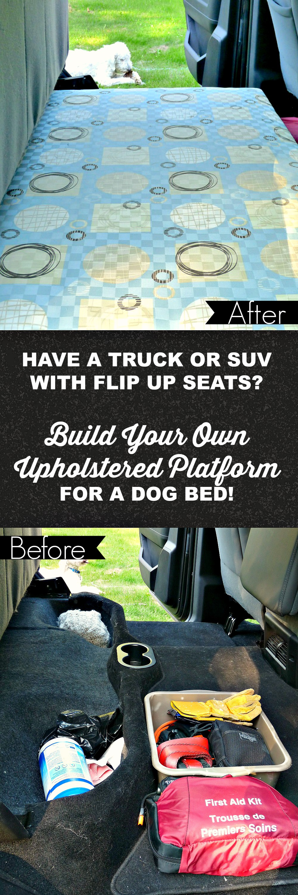 DIY Truck Cab Platform to Level Cab Floor When Seats Flipped Up