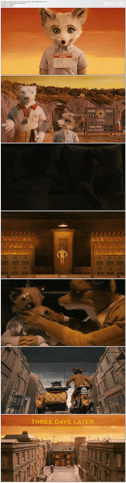 Fantastic Mr. Fox (2009) English 480p BRRip Download Full Movie
