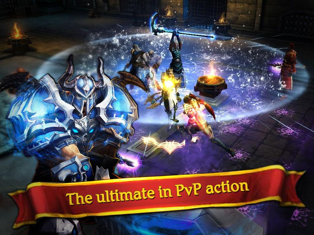 Clash for Dawn Guild War MOD APK terbaru