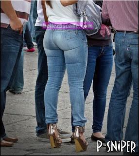 señoras sexys pantalón apretado