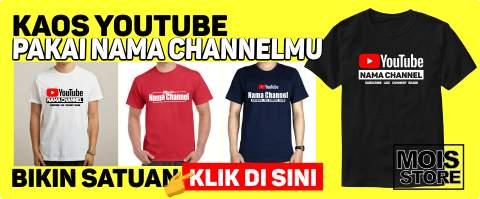 bikin kaos youtube