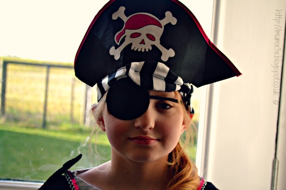 Pirate on world book day