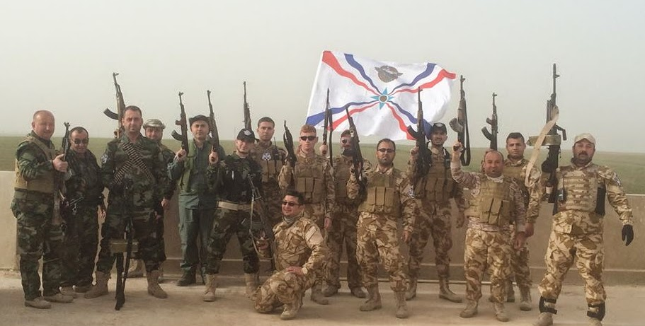 christian militants fight isis