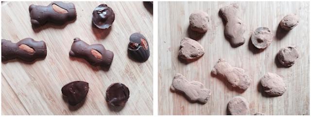 Bonbons en chocolat faits maison