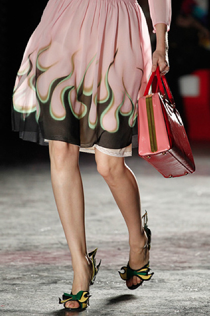 If It's Hip, It's Here (Archives): Prada Revvs Up Their