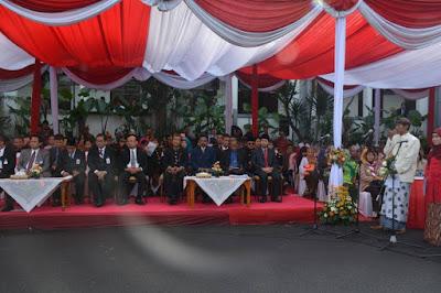 Bupati Emil Dardak Hadiri Hari Jadi 724 Kota Surabaya
