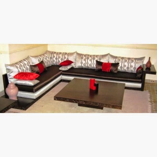 salon marocaine moderne d coration de salon du maroc. Black Bedroom Furniture Sets. Home Design Ideas