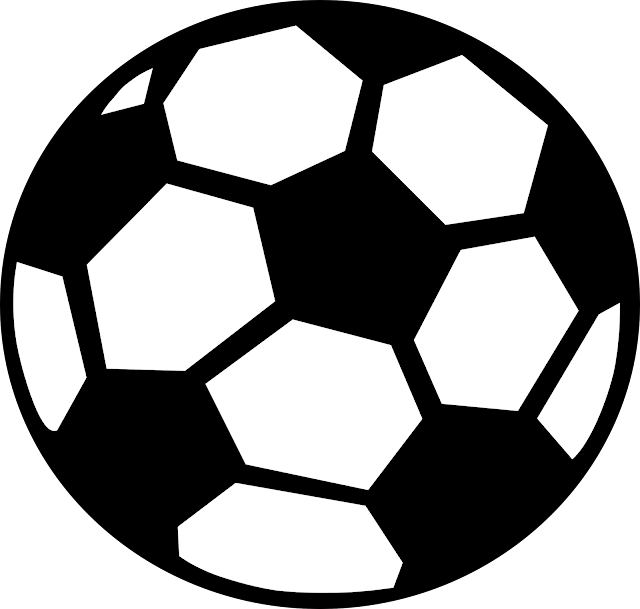 ball clipart black and white free