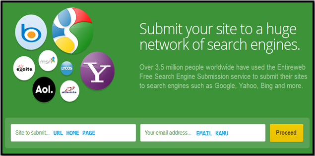Entireweb Free Website Submission Search Engines