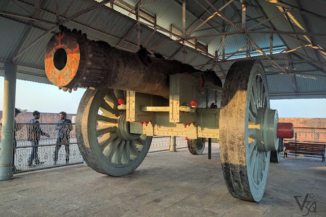 Jaivana-worlds largest cannon on wheel at that time