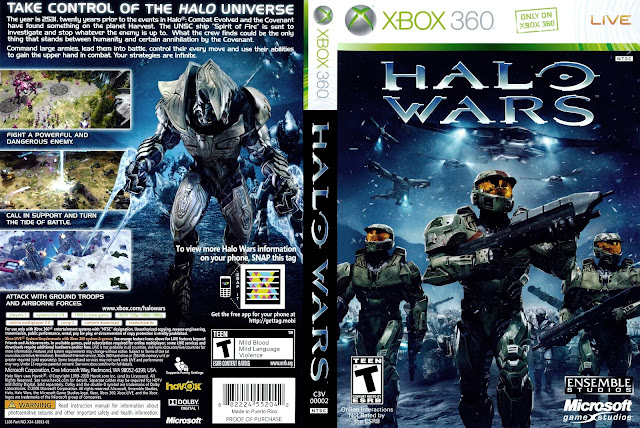 Capa Halo Wars Xbox 360