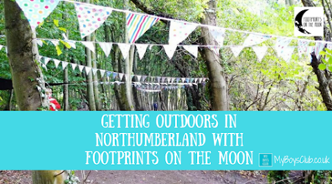 Getting Outdoors in Northumberland with Footprints on the Moon (REVIEW)