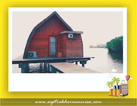 Kami menginap di Resort Andreas, salah satu resort terbaik di pulau ini