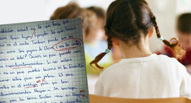 Una redacción escrita por una niña de 10 años se convierte en viral