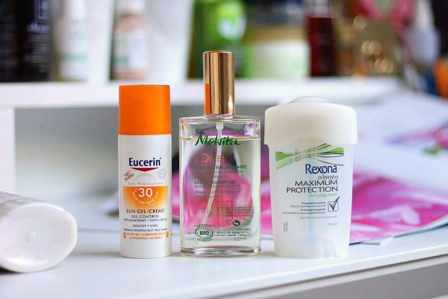 eucerin sun gel creme spf30, melvita iznimno ulje, rexona maximum protection review recenzija