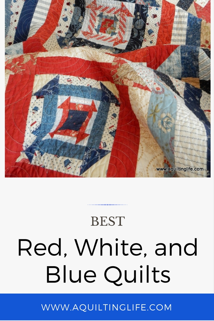 http://www.aquiltinglife.com/2017/06/favorite-red-white-blue-quilts.html
