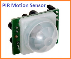 Microcontroller Project : Thief Detector using PIC Microcontroller & PIR Motion Sensor