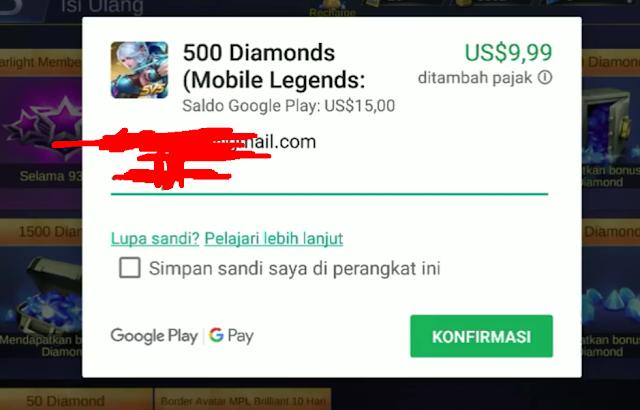 Diamond Top Up ML